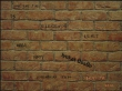 Rick Wright's Brick - The Lev's Wall 3./ mottó